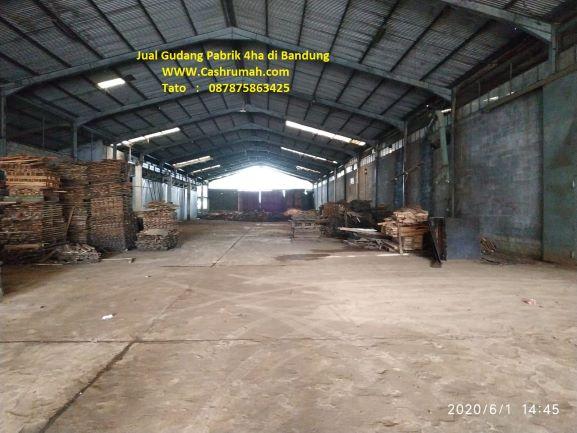 Cashrumah Jual Gudang Bandung 4ha di Jakarta 087875863425