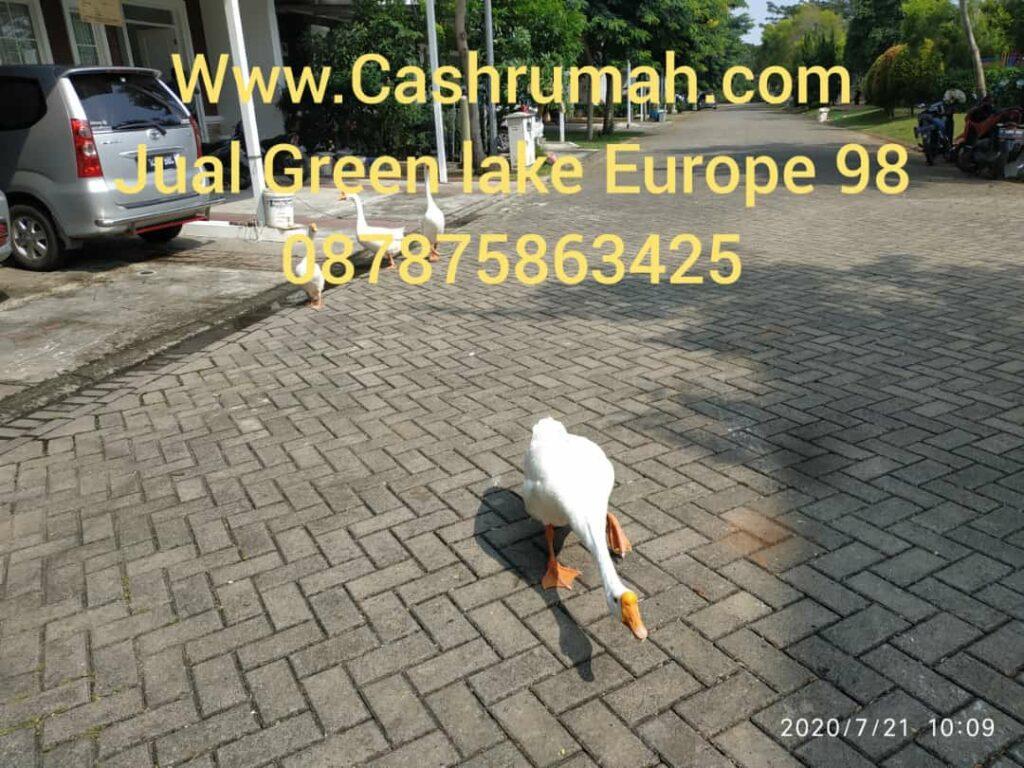 Jual Rumah Green Lake Europe 98 di Sudirman 087875863425