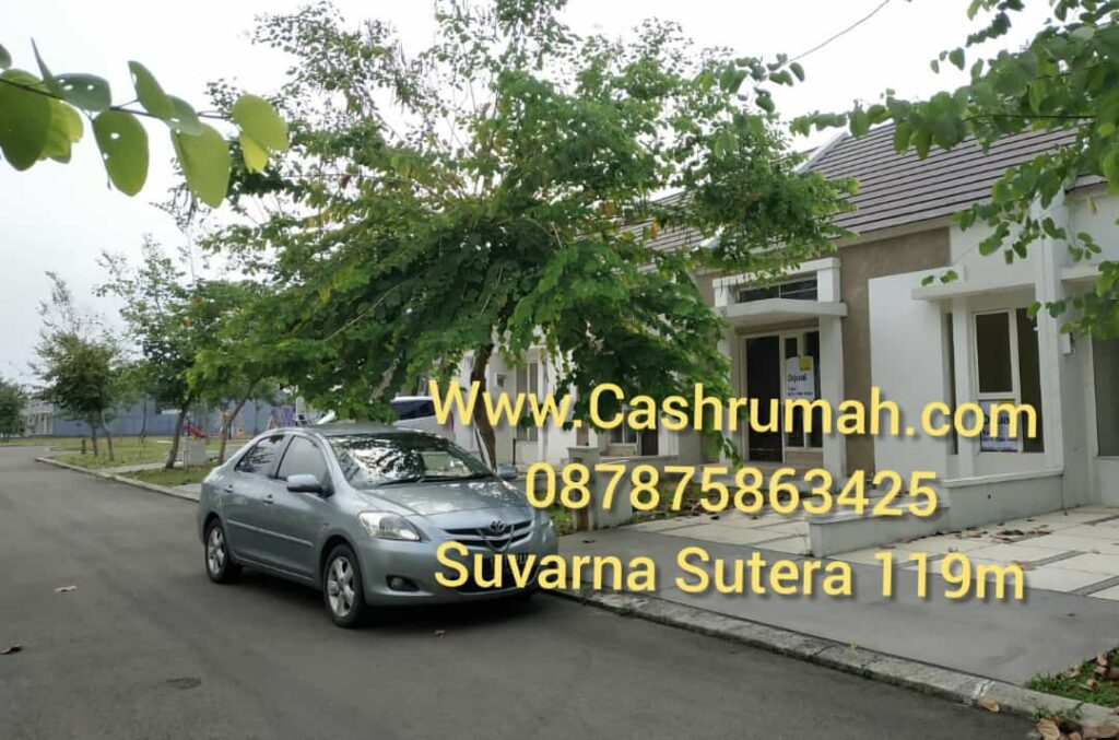 Jual Rumah Suvarna Sutera 119m Di Serpong cashrumah 087875863425