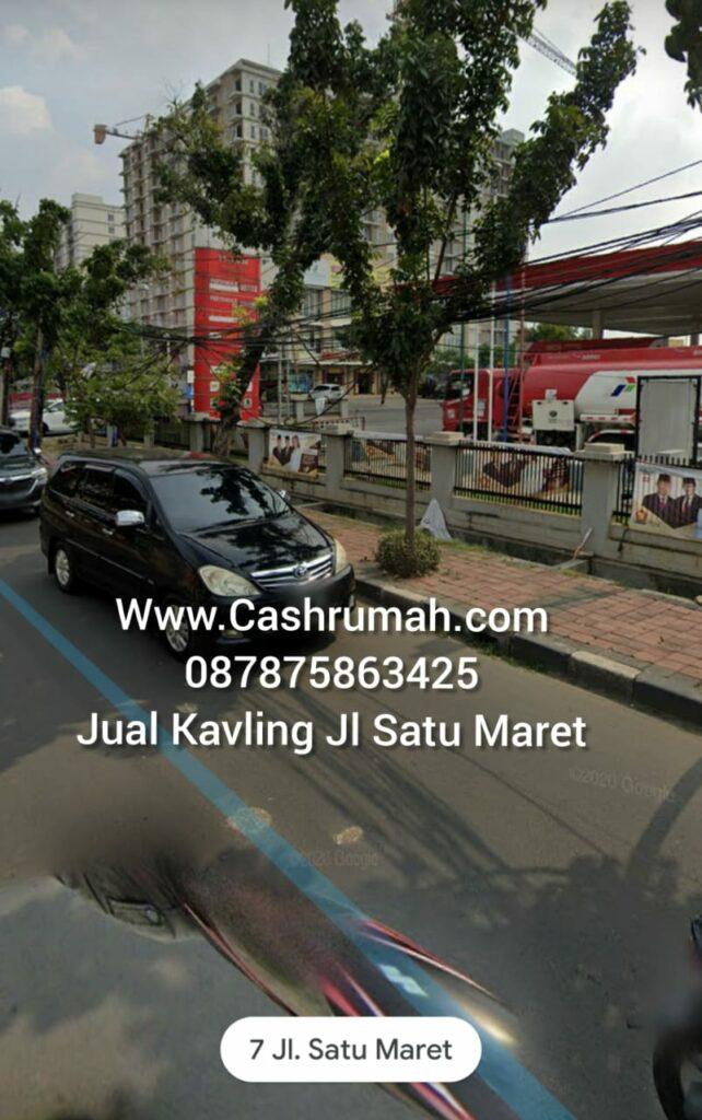 Jual Kavling Satu Maret Kalideres Jakarta Cashrumah 087875863425