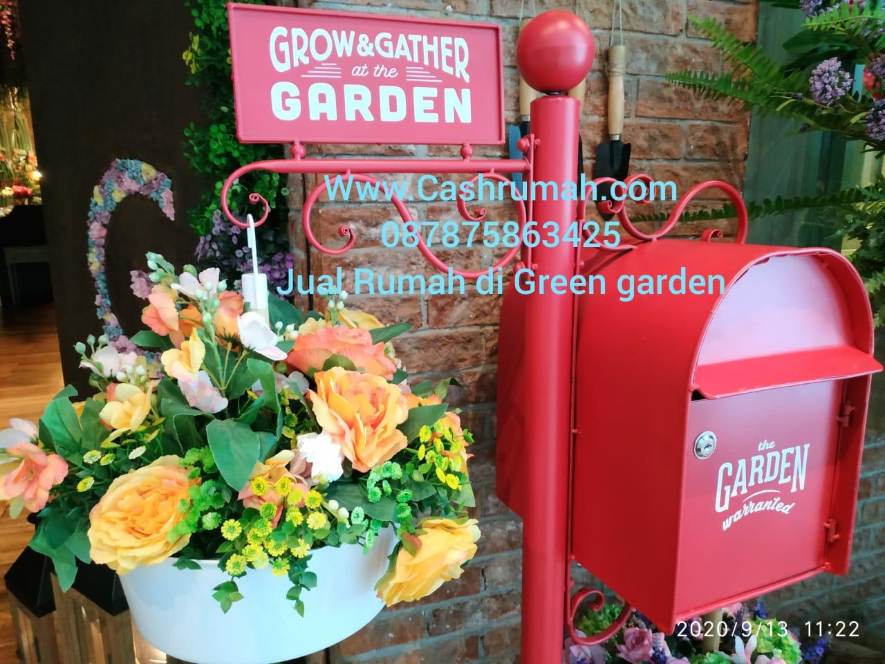 Jual Rumah Cashrumah Green Garden Jakarta Barat 087875863425