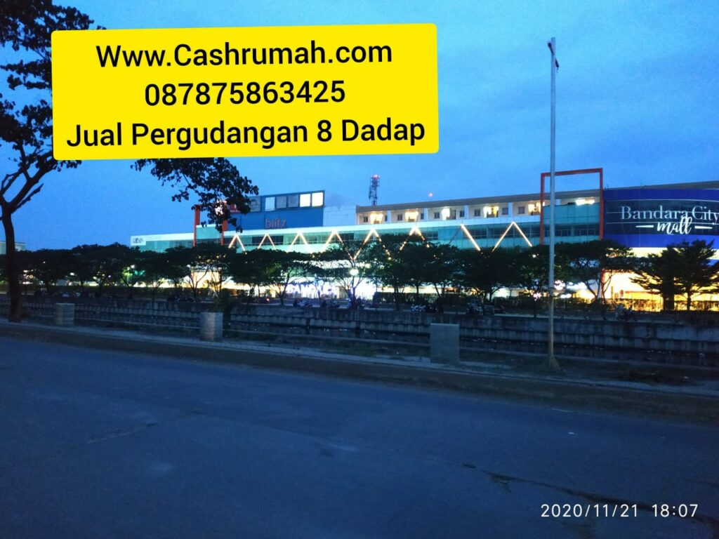 Gudang 8 4.5 Miliar dijual 633 m hak milik Cashrumah 087875863425