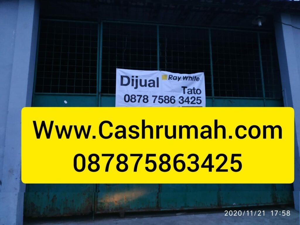 Gudang 8 4.5 Miliar dijual murah 633 m Shm Cashrumah 087875863425