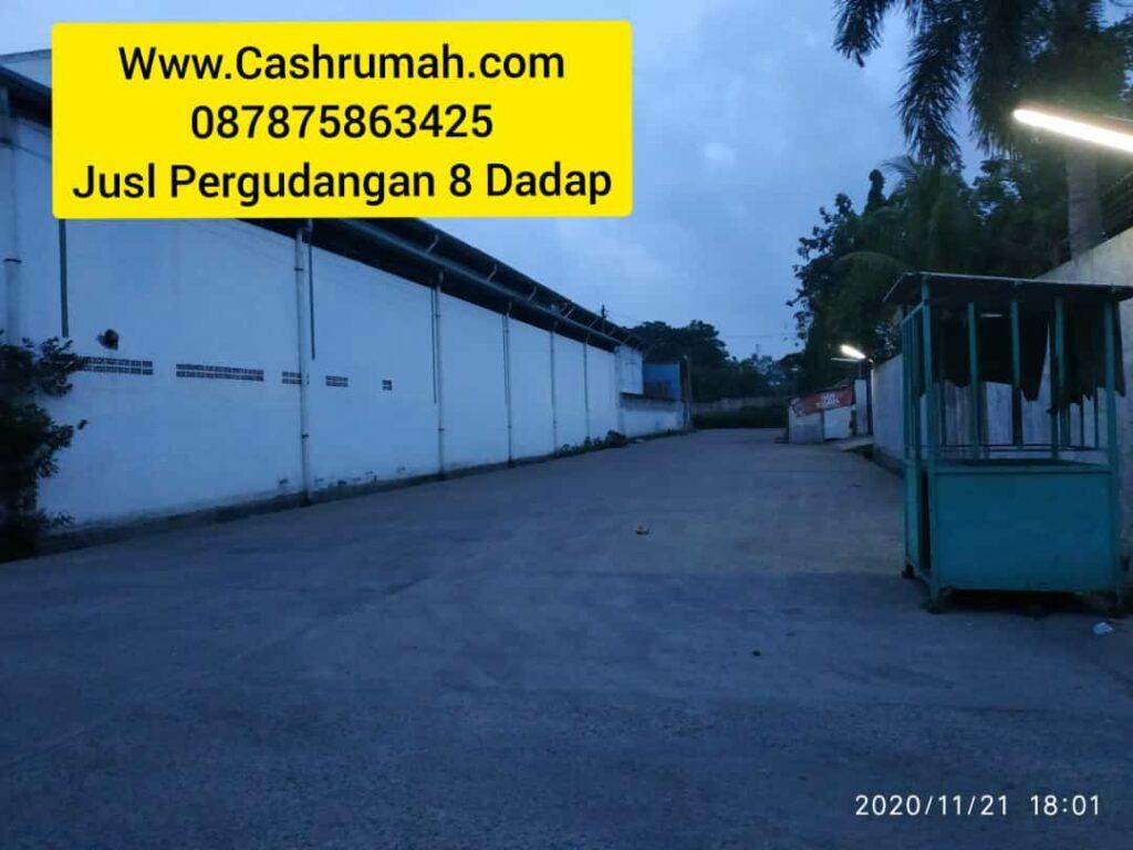 Gudang 8 4.5 Miliar Dadap dijual di PIK Cashrumah 087875863425