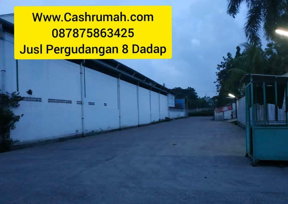 Gudang 8 4.5 Miliar Dadap dijual di Pluit Cashrumah 087875863425
