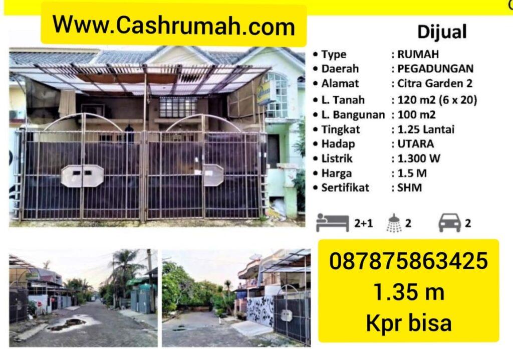 Rwcg Hendi Jual Citra 2 Murah  Cashrumah 087875863425
