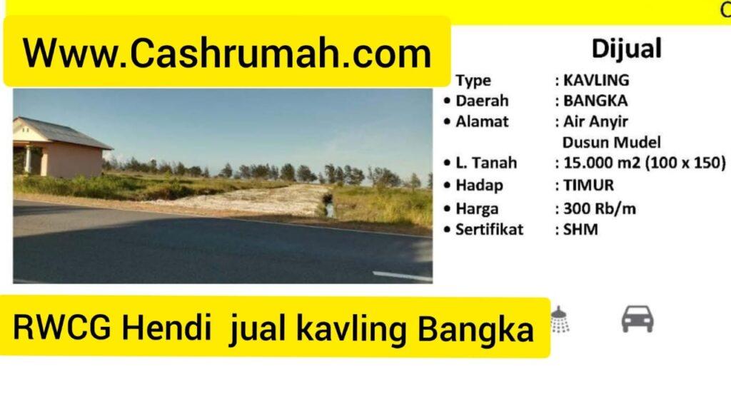 Ray White Hendi Jual Kavling Bangka Cashrumah 087875863425