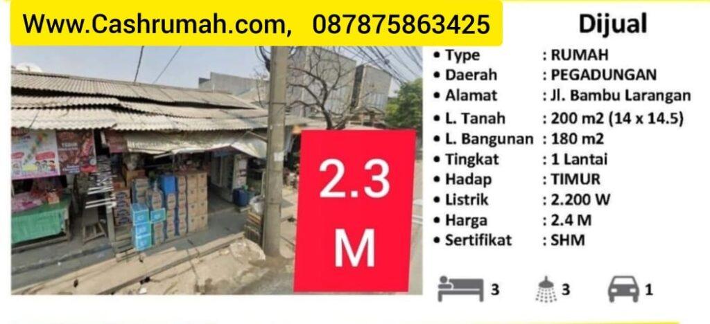 Tato RWCG Jual Bambu Larangan Sumur Bor Citra 087875863425