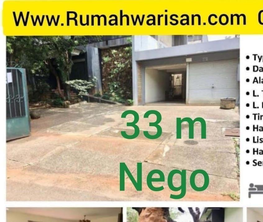 Jual Murah Rumah Permata Hijau 33M nego Jakarta 087875863425