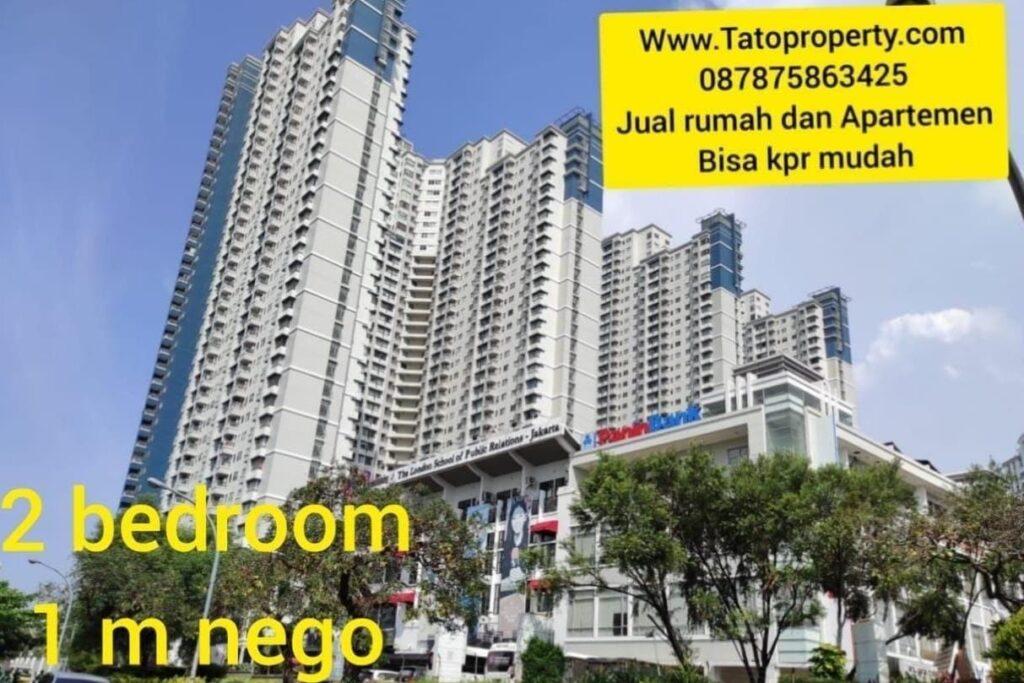 Cashrumah Jual Apartemen Sudirman 950 jt 2 bed Tato 087875863425