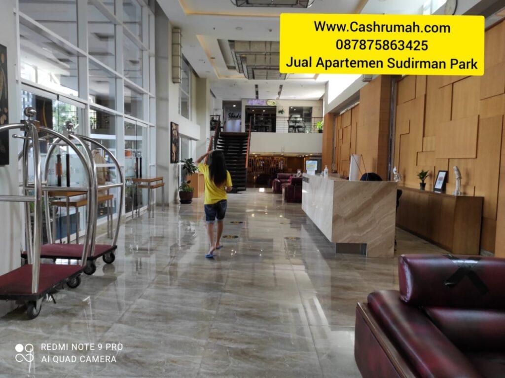 Jual Sudirman park 2bed Di Kunjungan Cashrumah 087875863425