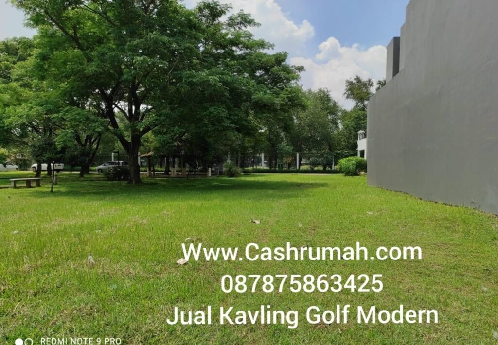 Tato Kiman Jual Kavling Golf Modern di Gajah Mada 087875863425