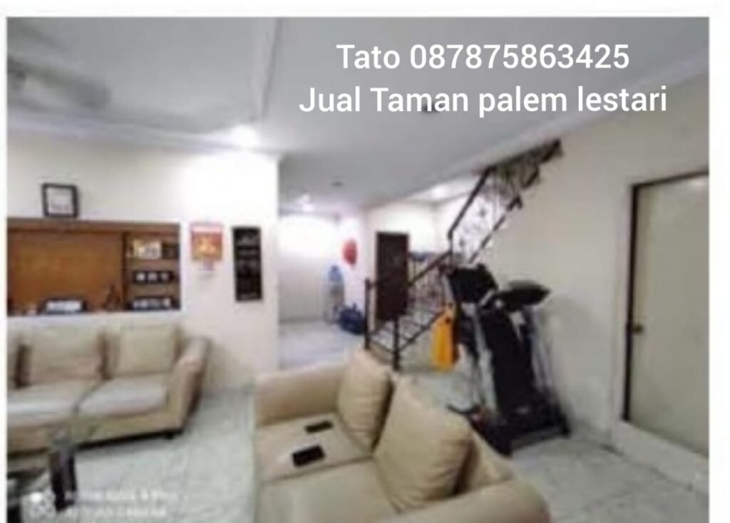 Rumah Taman Palem dijual di Serpong Cashrumah Tato 087875863425