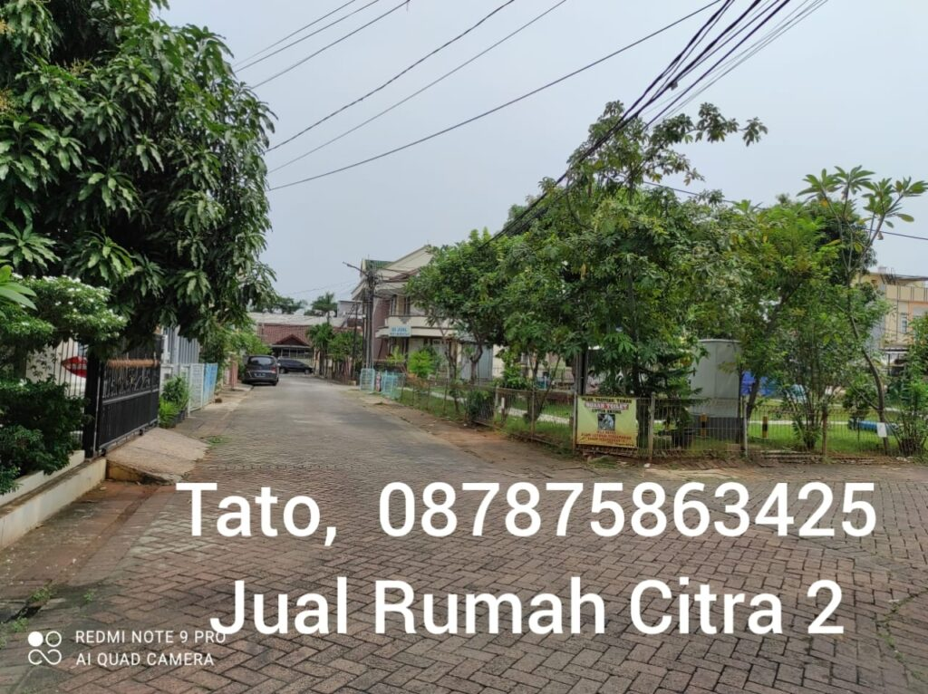 Tato Jual Citra Garden 2 murah 1.6 m Kalideres Tato 087875863425