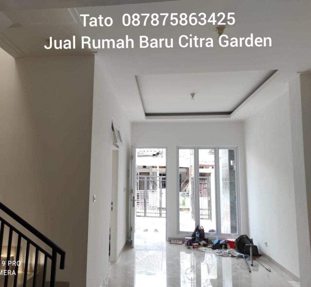 Jual Rumah Baru Citra Garden 2.15 m di Puri Indah Tato 087875863425