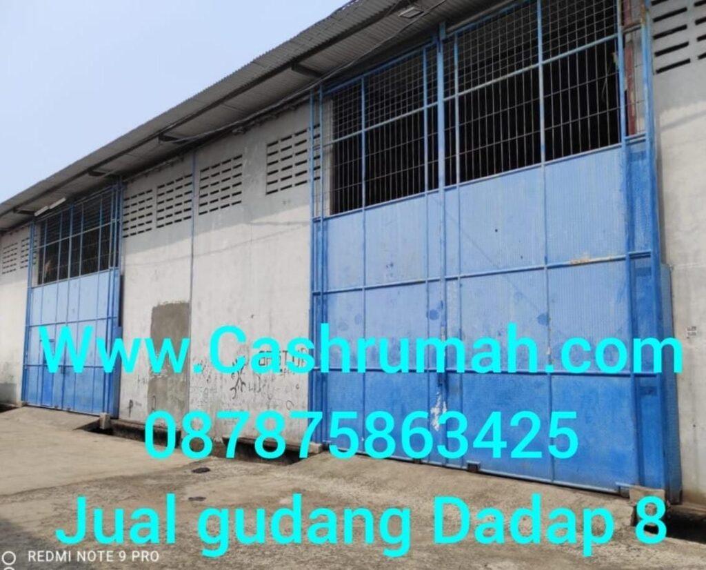 Dijual Gudang Jl Raya Perancis Dadap 8 1200 m Tato 087875863425