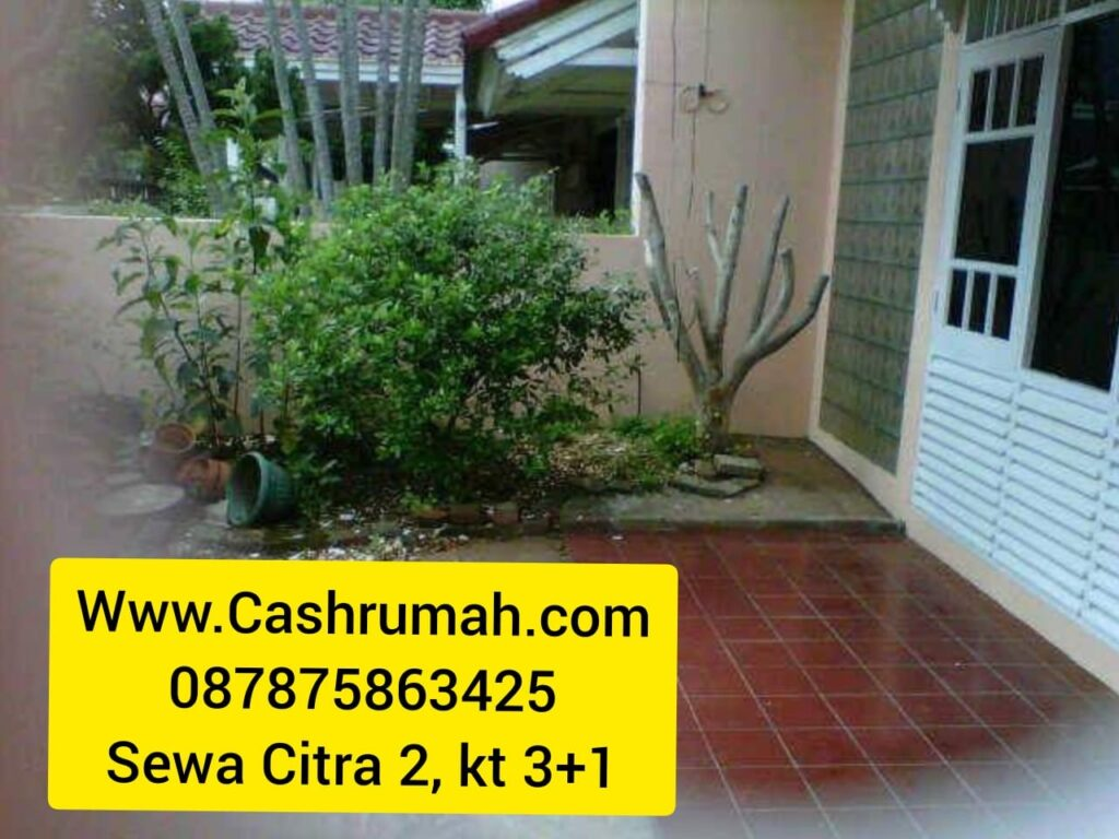 Tato Sewa Rumah Citra Garden kt3+1 60jt Jakarta 087875863425