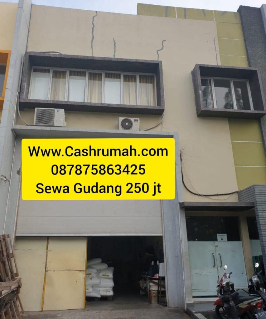 Sewa Gudang Era 9x33 250 jt Cashrumah Tato 087875863425